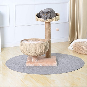 PetPals Small Natural Sphere Cat Tower
