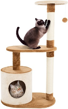 Petmaker Condo Scratching Cat Tower Review