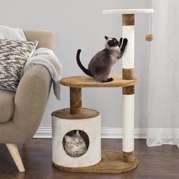 Petmaker Condo Scratching Cat Tower