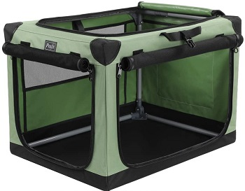 Petsfit Portable Soft Collapsible Dog Crate Review