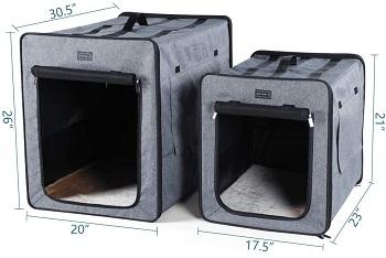 Petsfit Sturdy Soft Pet Crate Review