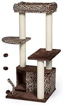 Prevue Leopard Print Cat Tower Review