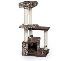 Prevue Leopard Print Cat Tower Summary