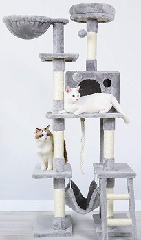 Rabbitgoo Multi-Level Tree For Cats Review