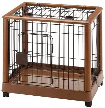 Richell Wood Mobile Pet Pen Review