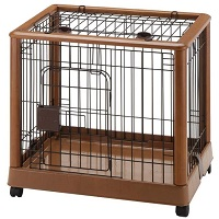 Richell Wood Mobile Pet Pen Summary