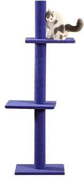 S-Lifeeling Purple Cat Tree