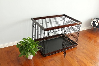 SIMPLY + Wood & Wire Dog Crate Review
