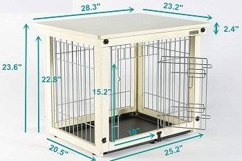 Simply Plus Wood & Wire Dog Crate Review
