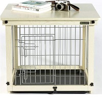 Simply Plus Wood & Wire Dog Crate Summary