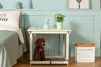 Simply Plus Wood & Wire Dog Crate