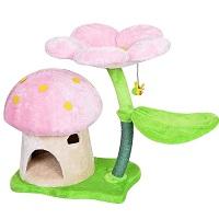 TGHY Mushroom Climbing Tower For Cats Summary