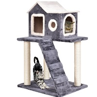 Tangkula Cat Kitty Tower Condo SUmmary