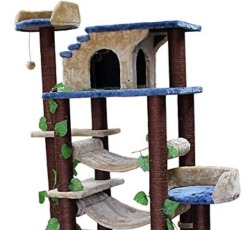 The Cozy Cat Furniture Tree Cat House Review