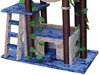 The Cozy Cat Furniture Tree Cat House