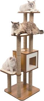 Vesper High Base XL Cat Tree Review