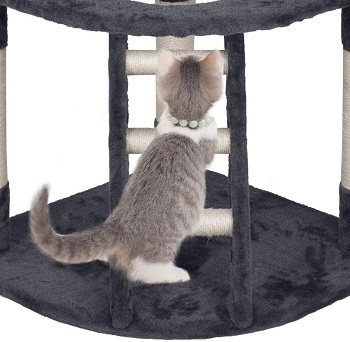 Yaheetech Cat Tower With Ladder Review