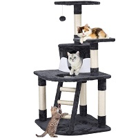 Yaheetech Cat Tower With Ladder Summary