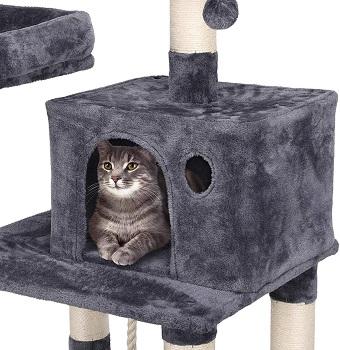 Yaheetech Luxurious Sisal Cat Tree