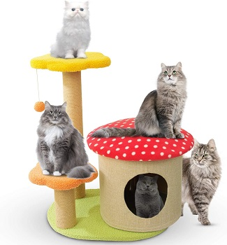 Yaqeen Flower Cat Tower Review