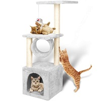 Yohoz Minimalist Cat Tower Summary