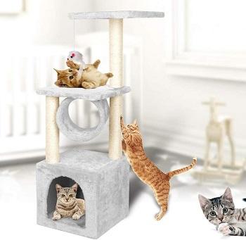Yohoz Minimalist Cat Tower
