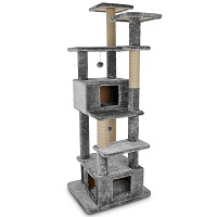 You & Me Deluxe Clubhouse 7 Level Cat Tree Summary