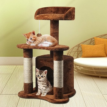 67i Cat Tree For Two Kittens