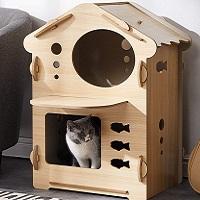 Acro Condo Cat Tower Cute Summary