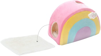 All Fur You Rainbow Cubby Cat Condo Review