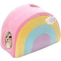 All Fur You Rainbow Cubby Cat Condo Summary