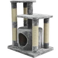AmazonBasics Cat Tower For Two Cats Summary