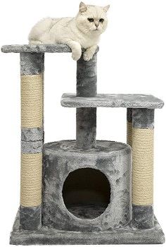 AmazonBasics Cat Tower For Two Cats