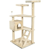 AmazonBasics Cat Tree Multi-Level Step Ladder Summary