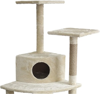 AmazonBasics Cat Tree Ramp Review
