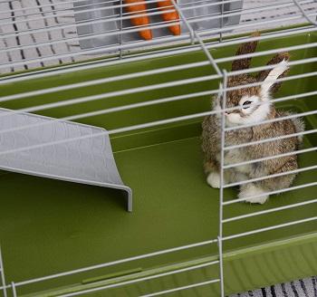 BEST 2 STORIES CUTE Rabbit Cage