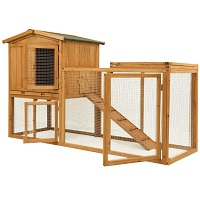 BEST 2 STORIES LARGE OUTDOOR HUTCH summary
