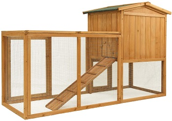 BEST 2 STORIES LARGE OUTDOOR HUTCH
