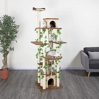 BEST BIG WITH BRANCHES Go Pet Club Branch Cat Tree