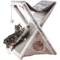 BEST FOLDABLE GRAY CAT TREE Summary