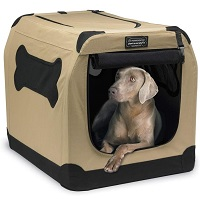 BEST FOR TRAVEL LARGE 2 DOOR DOG CRATE Summary