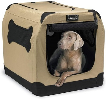 BEST FOR TRAVEL LARGE 2 DOOR DOG CRATE