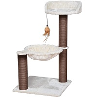BEST FOR TWO CAT TOWER WITH HAMMOCK summary