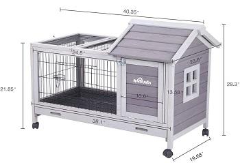 BEST HOUSE Aivituvin Cute Rabbit House