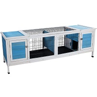 BEST HOUSE LARGE INDOOR RABBIT HUTCH summary