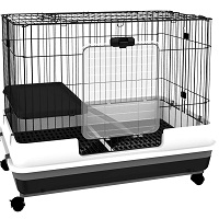 BEST INDOOR Double Rabbit Cage summary
