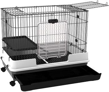 BEST INDOOR Double Rabbit Cage