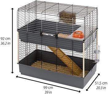 BEST LARGE Ferplast Double Rabbit Cage