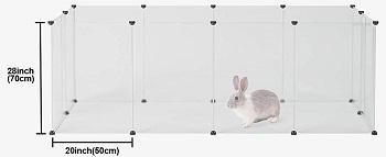 BEST LARGE Kousi Cool Bunny Cage