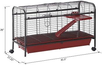 BEST METAL Double Rabbit Cage